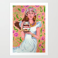 An Ode To Nutella Art Print