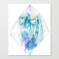 The Two Made One Canvas Print