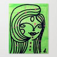 Limonada Canvas Print