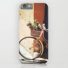 Yellow Bicycle Slim Case iPhone 6s