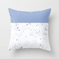 XVI - Blue 2 Throw Pillow