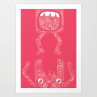 Half. Art Print