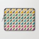 Colorful birds pattern Laptop Sleeve