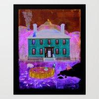 The Fernie Curse Art Print