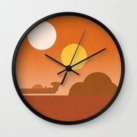 Tatooine Wall Clock