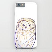 The Owl. Owl art, owls, owl print, owl illustration, nature, animals, children's  iPhone 6 Slim Case