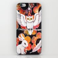 iPhone & iPod Skin featuring The Owl by Judy Skowron