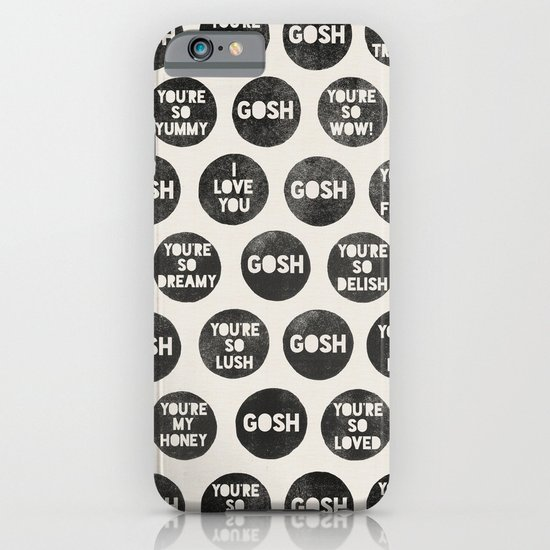 Colorplay_Goshquotes by Rachel & Garima iPhone & iPod Case