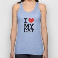 I love my cat Unisex Tank Top