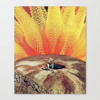 Into The Unknown (shoest… Canvas Print