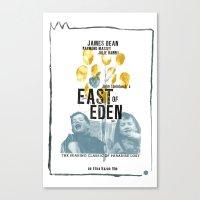 EAST OF EDEN// Canvas Print