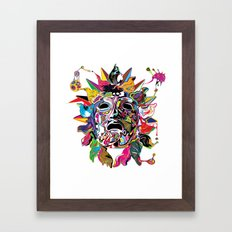 Phoebus Framed Art Print