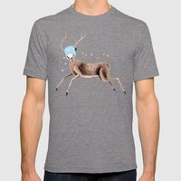 Rei Kahlo Mens Fitted Tee Tri-Grey SMALL