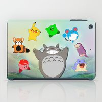 Video game Anime Character Rainbow iPad Case