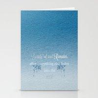Beauty Of Soul Stationery Cards