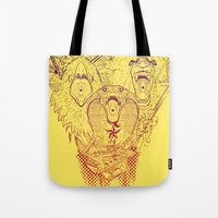 Open Wide! Tote Bag