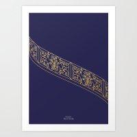 Escalier Mussee Rodin Art Print