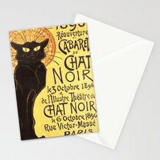 Chat Noir Cat Stationery Cards