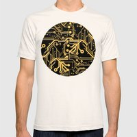 Techno Organic  Mens Fitted Tee Natural SMALL