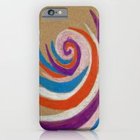 snoozy spiral iPhone 6 Slim Case