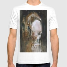 Under the Ali Qapu palace Mens Fitted Tee White SMALL