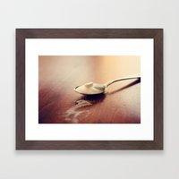 A Spoonfull Of Sugar Framed Art Print