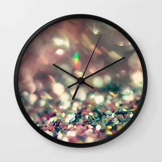 A Little Bit of Luck Wall Clock