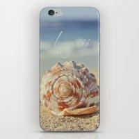 Kapukaulua Aia I Laila Ke Aloha Island Dreams iPhone & iPod Skin