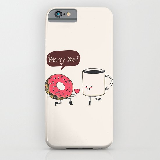 Marry Me iPhone & iPod Case