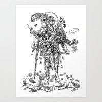 Knight (Ascension) Art Print