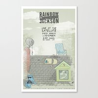 Rock Poster Canvas Print