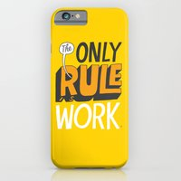 iPhone & iPod Case featuring The Only Rule by Chris Piascik