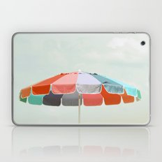 beach umbrella Laptop & iPad Skin
