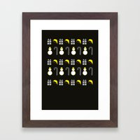 Christmas Icons II Framed Art Print