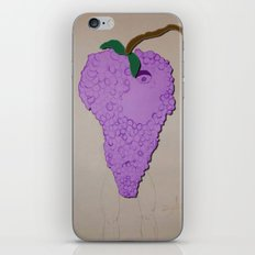 Killer Grapes  iPhone & iPod Skin