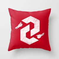 Thunderforce Throw Pillow