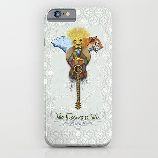 WE GOVERN WE // lionsandtigersandbears iPhone & iPod Case