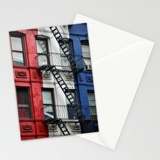 NYC Red White Blue Stationery Cards