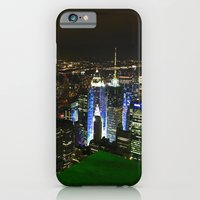 iPhone & iPod Case featuring New York Skyline by Julian Clune