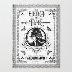 Legend of Zelda Link The Hero of Time Minimal Edition Canvas Print
