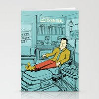 Movies We Like - The Ter… Stationery Cards