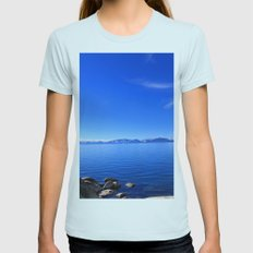 Tahoe Womens Fitted Tee Light Blue SMALL
