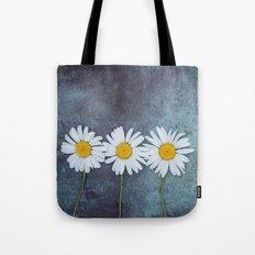 Three Marguerites Tote Bag