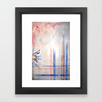 order and chaos Framed Art Print