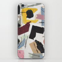 Large Collage With Paint… iPhone & iPod Skin