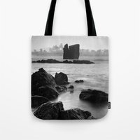 Seascape with islets Tote Bag