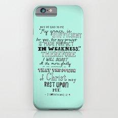 2 Corinthians 12:9 iPhone 6 Slim Case