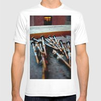 Nailed Mens Fitted Tee White SMALL