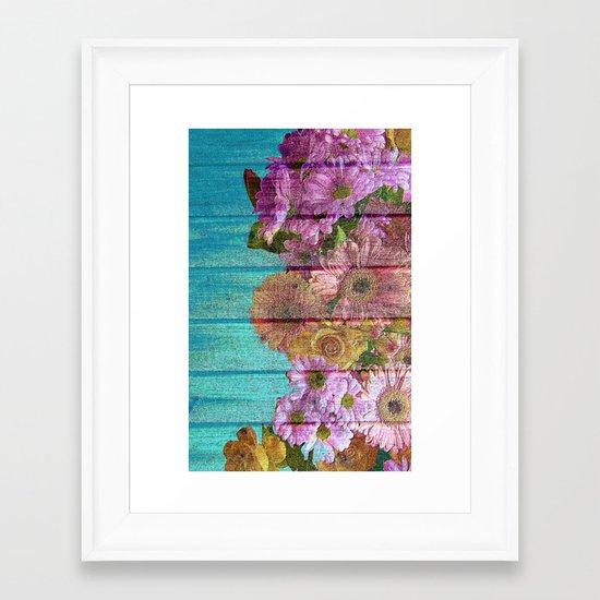 The Ultimate Garden Romance Framed Art Print