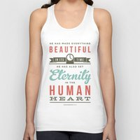 He Has Made Everything B… Unisex Tank Top